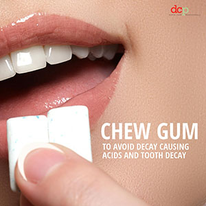 Dental Care Professionals says chew gum