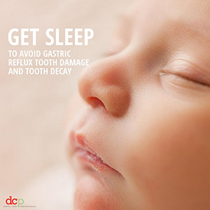 Dental Care Professionals says get sleep never eat late