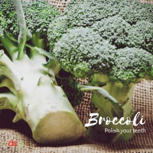 Dental Care Professionals says Broccoli brighten teeth naturally