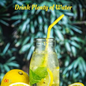 Festive Season Dental Tip 3 - Drink Plenty of Water to Detox, Hydrate and Keep Cool