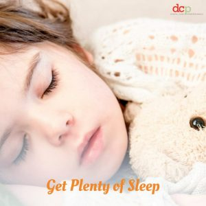 Festive Season Dental Tip 7 - Get Plenty of Sleep Maybe Even a Nap